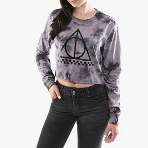 Harry Potter x Vans | Deathly Hallows Crop Top